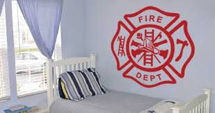 Cross Fireman Wall Decals Dezign With A Z
