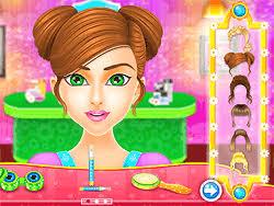 make up salon game play