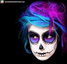 mexican sugar skull makeup tutorial day