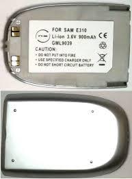 E310 Samsung Replacement Silver Mobile ...