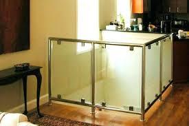 indoor glass railing emetrix co
