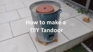 home made tandoor oven you
