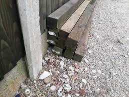 Fence Posts X8 75mm X 75mm X 2 4 M In Derby Derbyshire Gumtree