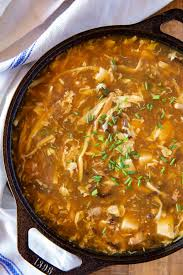 Hot and Sour Soup - Dinner, then Dessert