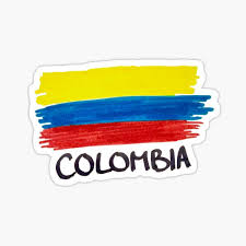 Colombian Flag Stickers Redbubble