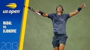 Rafael Nadal vs Novak Djokovic | US Open 2013 Final