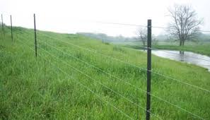 Electric Fence High Tensile Electric Fence Posts