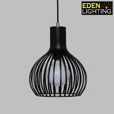 8791 230 black iron pendant lights