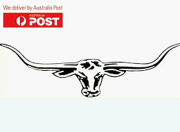 Large Longhorn Rm Williams Decal Stickers Car Window Ute Moto Wall Graphics Jdm In Vehicle Parts Amp Accessories C Rm Williams Wall Graphics Longhorn Tattoo