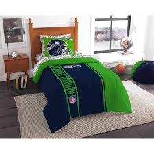 Nfl Seattle Seahawks Soft And Cozy Bedding Comforter Set Walmart Com Walmart Com