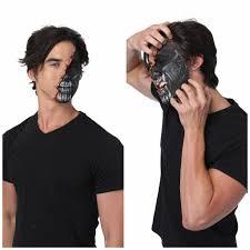 alien makeup tutorial with torn face