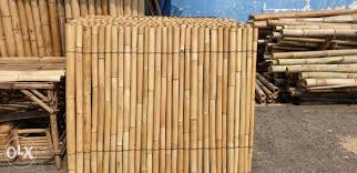 Bamboo Fence Home Furniture Home Tools And Accessories On Carousell