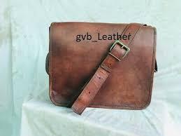 uk stock leather messenger shoulder