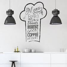 Chef S Hat Wall Decal Kitchen Wall Decal Chef S Hat Etsy