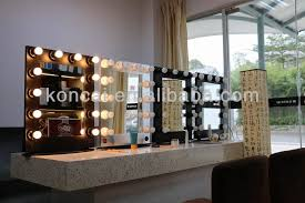 professional lighted makeup mirror wall