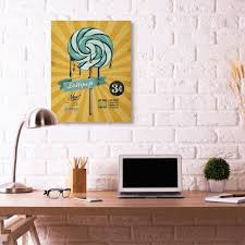 Shop Stupell Industries Lollipop Vintage Comic Book Yellow Blue Design Canvas Wall Art Proudly Made In Usa On Sale Overstock 29129308