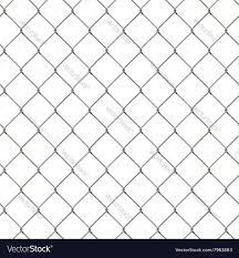 Seamless Wire Mesh Fence Royalty Free Vector Image