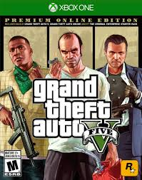 Grand Theft Auto 5 V Premium Online Edition [Microsoft Xbox One ...