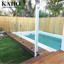 Outdoor Plexiglass Tempered Frosted Glass Pool Fence Panels For Swimming Pool View Tempered Glass Pool Fence Panels Kaho Product Details From Guangzhou Kaho Special Glass Co Ltd On Alibaba Com