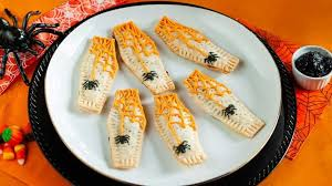 coffin shaped homemade pop tarts