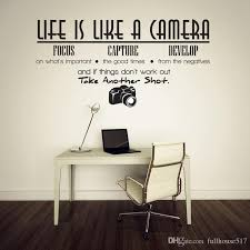 Life Is Like A Camera Quotes And Sayings Lettering Removable Wall Stickers Wall Decor Home Decor Wall Stickers Decor Living Room Baby Room Wall Decals Baby Room Wall Stickers From Fullhouse517 1 87