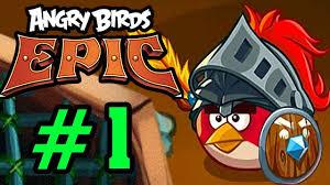 ANGRY BIRDS EPIC - Chim Đỏ Siêu Cool Ngầu Tập 1 - YouTube