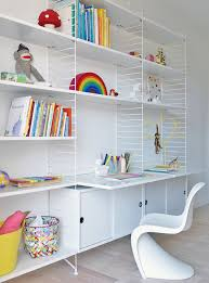 Modern And Minimal Wall Shelves For Kids Rooms The String Shelf Kids Room Ideas