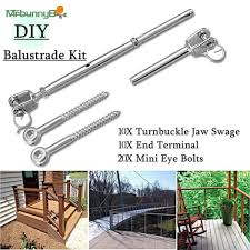 Balustrade Diy Swage Fork Turnbuckle Tools Garden Aisles Indoor Stainless Steel Wire Practical Shopee Philippines