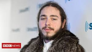 Post Malone hits out at trolls who 'wished death' after plane drama - BBC  News