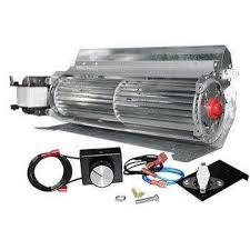 165 cfm fireplace blower fan kit