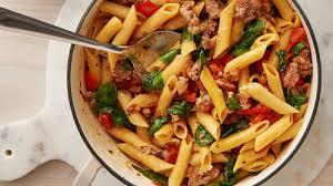 italian sausage one pot pasta recipe