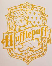 Hufflepuff Crest Vinyl Decal Vinyl Decals Hufflepuff Vinyl