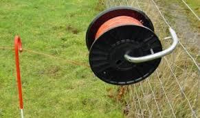 Reel Holder For Dairy Winder Fencing Machine