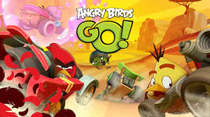 ANGRY BIRDS GO RACE ON STUNT TRACK Android iOS Gameplay - YouTube