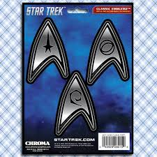 Star Trek Starfleet Academy Car Window Decals Stickers