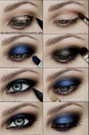 blue dress makeup tutorial 2018 my