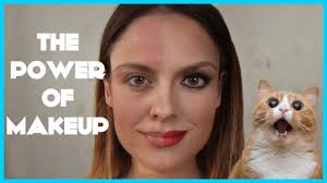 the power of makeup before after