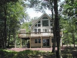 vacation home pocono lakefront house
