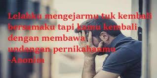 gambar kata galau sedih kecewa karena sakit hati bikin merinding