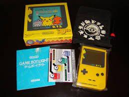 Game Boy Light Pokemon Center Tokyo Pikachu Yellow Pikachu The ...