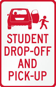 student-drop-off-pick-up-sign - Oakland School For The Arts