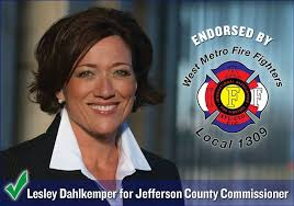 Local 1309 is proud to endorse Lesley... - West Metro Professional  Firefighters   Facebook