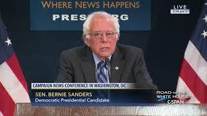 Senator Bernie Sanders News Conference