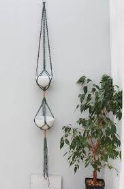 macrame plant hanger macrame wall