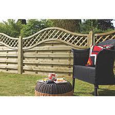 Forest Prague Lattice Curved Top Fence Panels 6 X 5 Pack Of 8 Lattice Fence Panels Screwfix Com