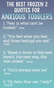 how frozen can help a toddler anxiety one hangry mama