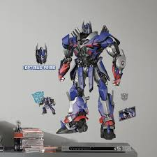 Room Mates Transformers Age Of Extinction Optimus Prime Giant Wall Decal Reviews Wayfair