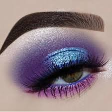 purple halo eye tutorial how to