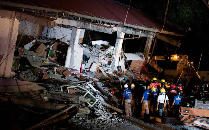 """Resultado de imagem para terremoto nas filipinas hoje"""""""