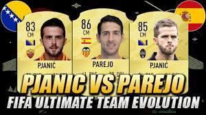 PJANIC VS PAREJO FIFA EVOLUTION